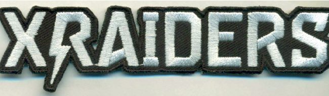 X Raiders Patch Merch