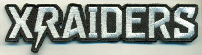 X Raiders Patch Merch